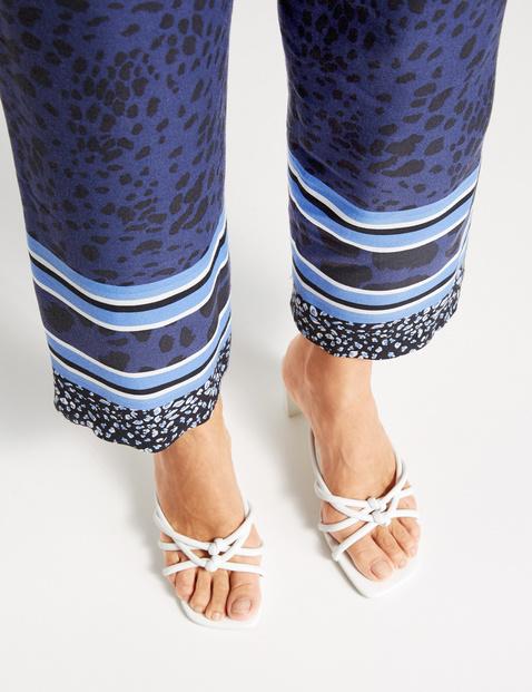 Spodnie w różne wzory