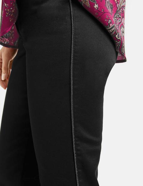 Five-pocket black jeans, Best4me