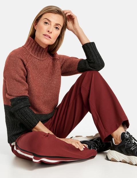 Fine jersey trousers
