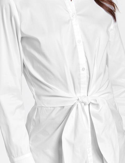 Bluse mit breitem Bindeband
