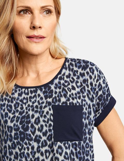 Shirt met luipaardmotief