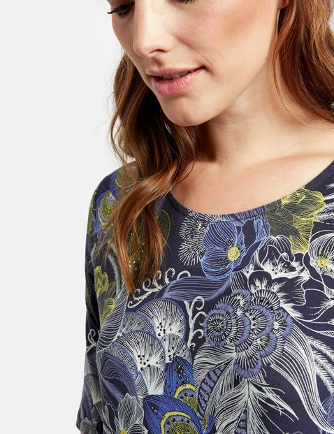 Shirt met motief organic cotton