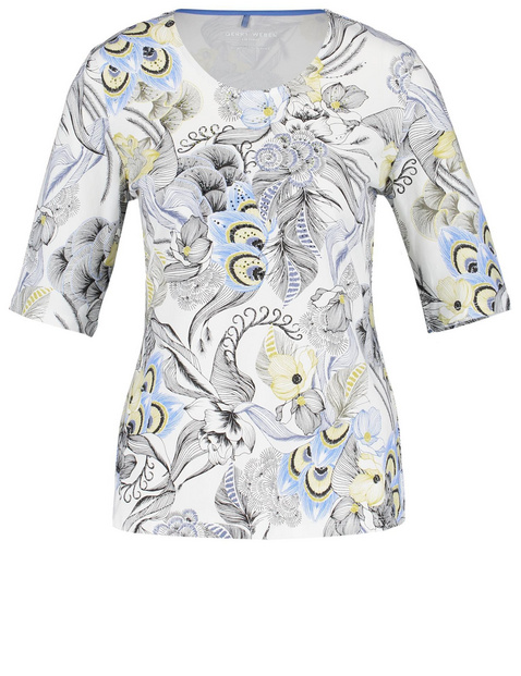 Wzorzysta koszulka organic cotton