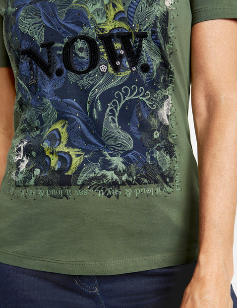 Shirt met halflange mouwen NOW