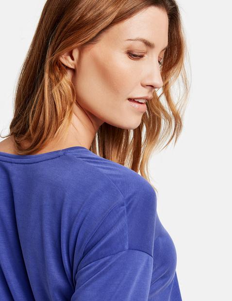 3/4 Arm Shirt mit überschnittener Schulter