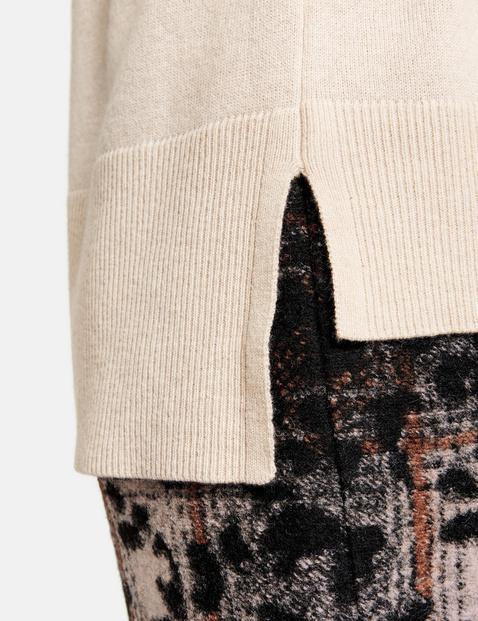 Sweter oversize z kaszmiru