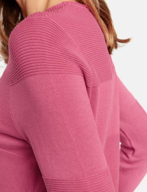 Sweter z czystej bawełny