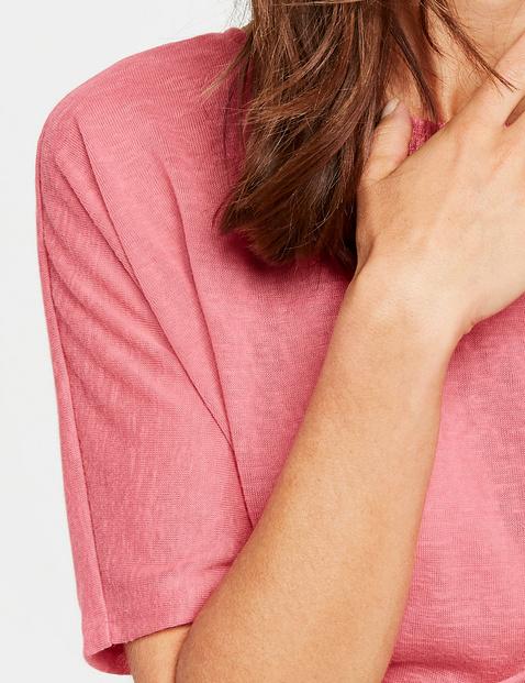 Pullover mit modischem Rückenausschnitt