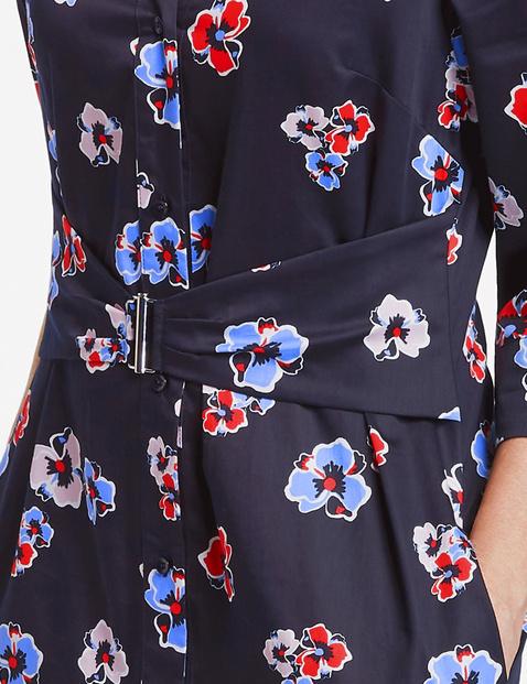 Blusenkleid mit Taillenband