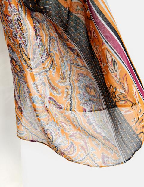 Schal mit Paisleypatch