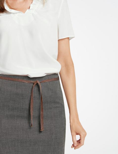 Dwukolorowa spódnica