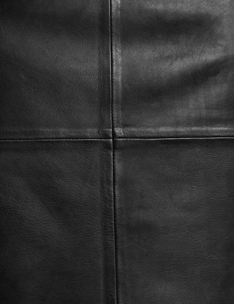 Spódnica ze skóry nappa