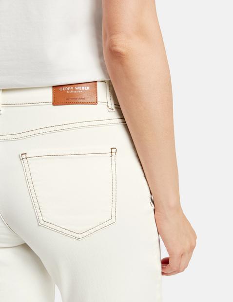 7/8-broek in 5-pocket-model