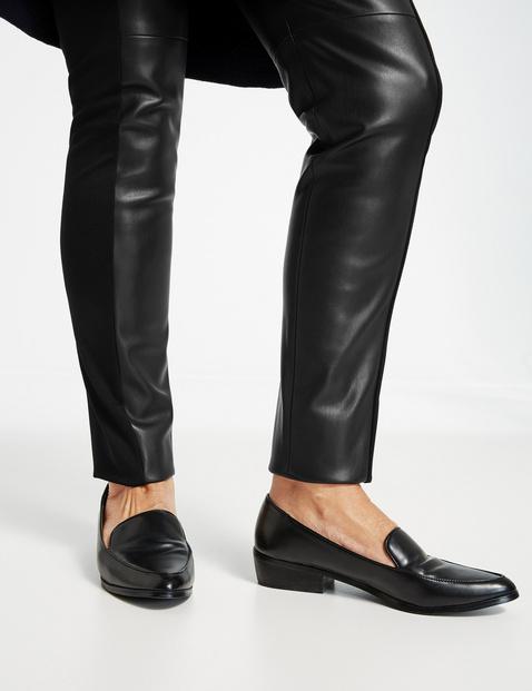 Spodnie ze skóry ekologicznej