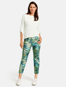 Official Team GB Print Short Femme Chino Casual