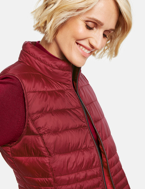 Quilted body warmer