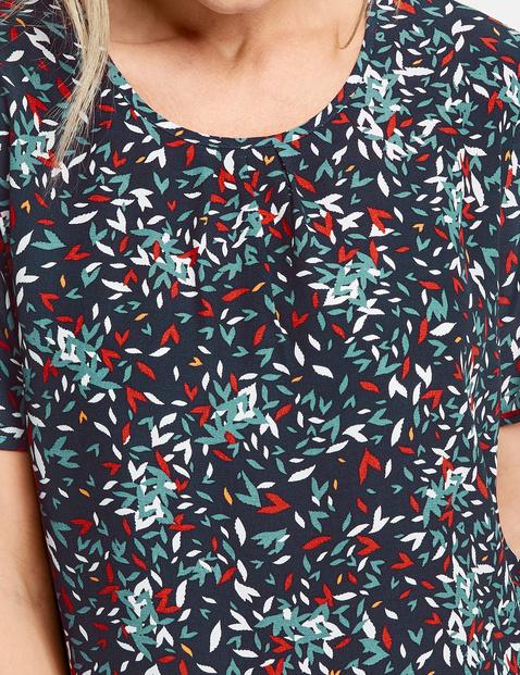 Blusenshirt mit Minimaldessin