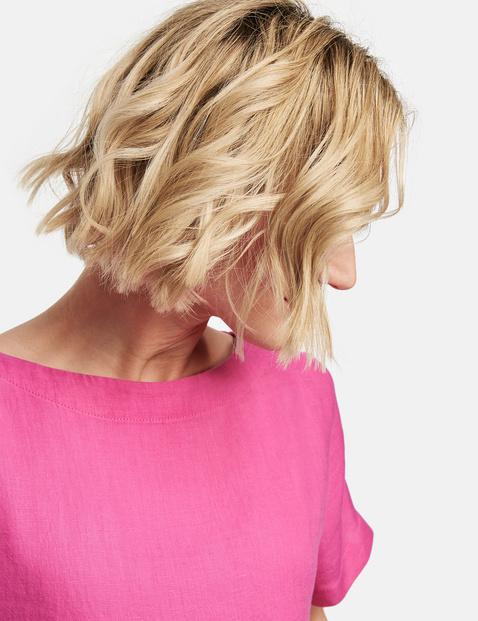 Linen blouse top