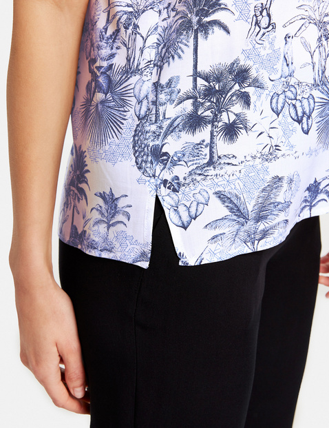 Blouse top in viscose