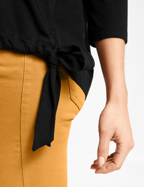 3/4 Arm Shirt mit Oversize Form