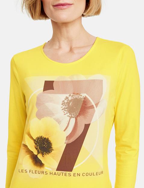 Shirt met 3/4-mouwen, organic cotton