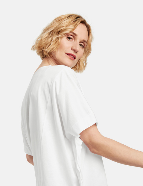 Shirt mit sanftem Schimmer