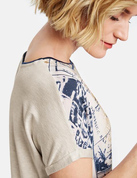 Kurzarm Shirt mit Patchprint