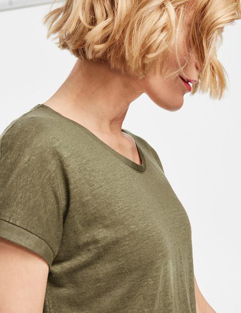 Shirt mit Saumbesatz