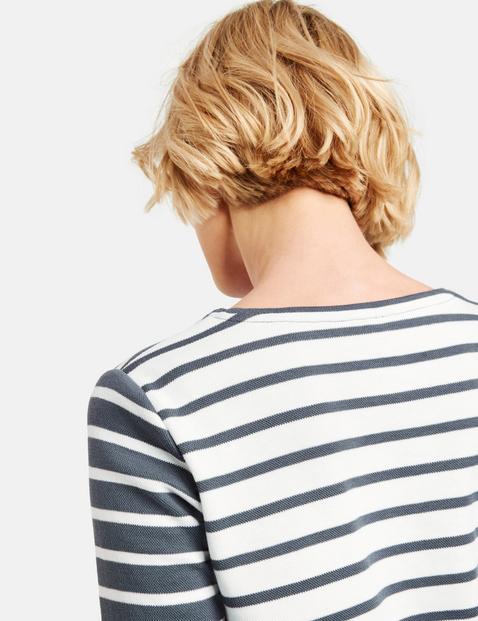 Shirt van katoen-piqué organic cotton