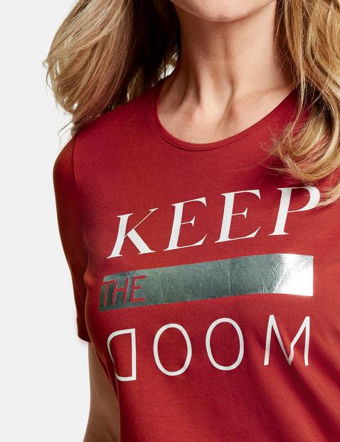 Shirt mit Frontdruck