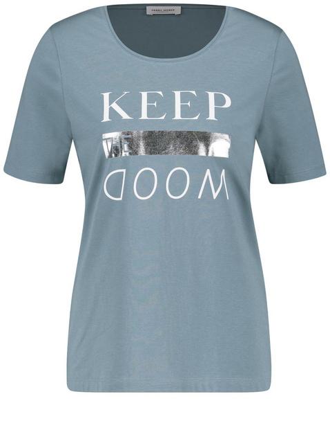 Shirt met print op de voorkant