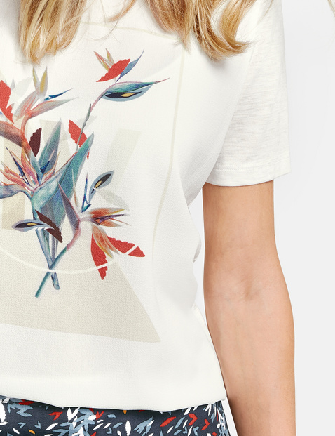 Top with a placement print