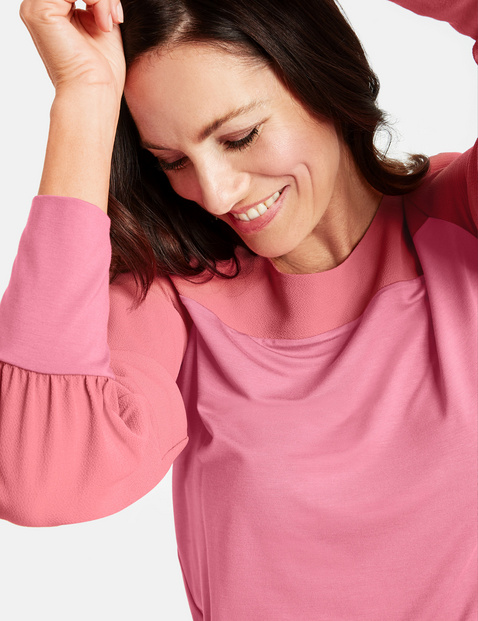 Koszulka z długim rękawem z mankietami
