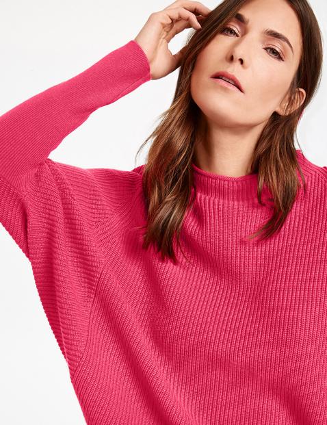 Sweter z rękawami à la nietoperz