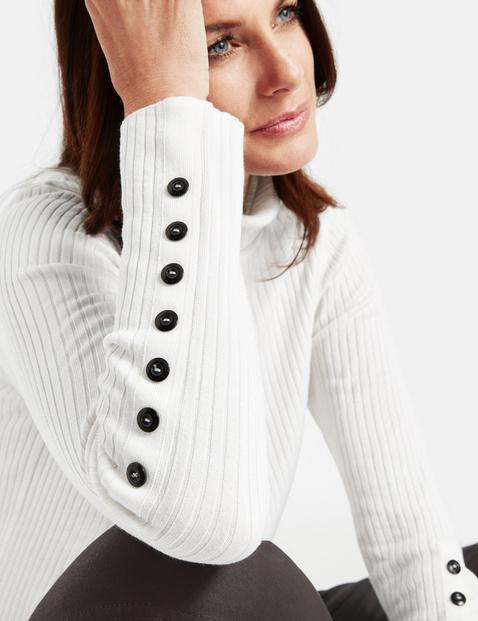 Sweter w prążki