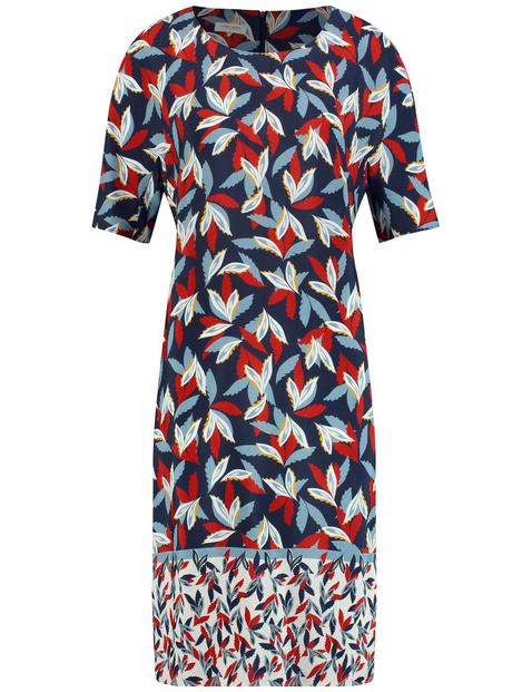 Dress with a hem border