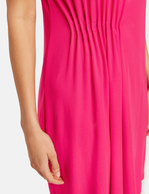 Dress with pintucks