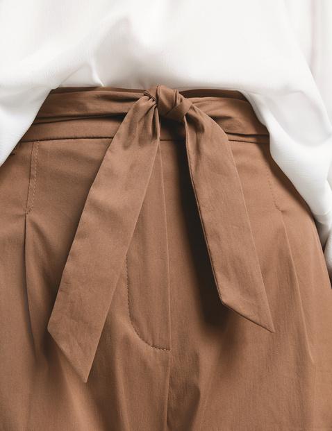 Spodnie z pasem paperbag