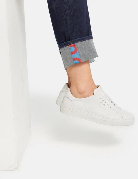 Jeans mit breitem Umschlag