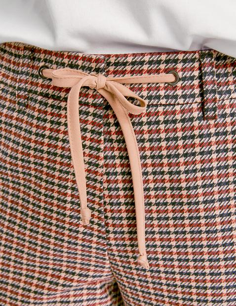 Spodnie w kratkę Citystyle