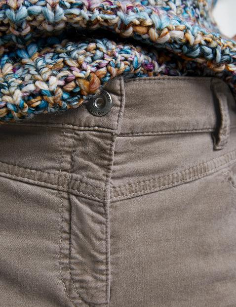 Hose mit Velvet Touch SlimFit Kurzgröße