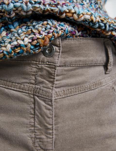 Hose mit Velvet Touch Slim Fit