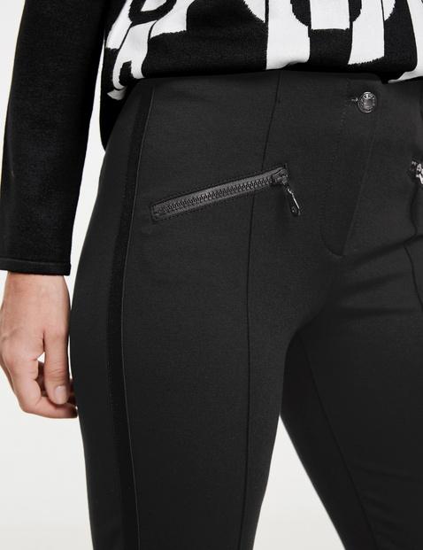 Hose mit Zippertaschen SlimFit