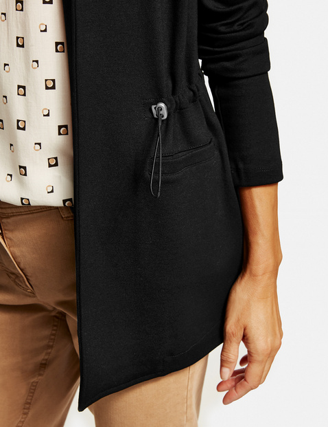 Sweatshirt blazer