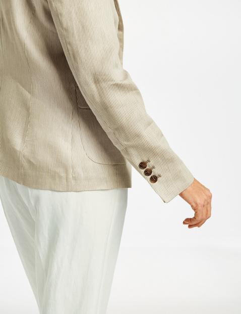Blazer mit Fineliner Streifen
