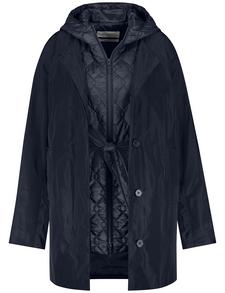 Gerry Weber Outdoorjacke Nicht Wolle »two In One Jacke« Navy Blue
