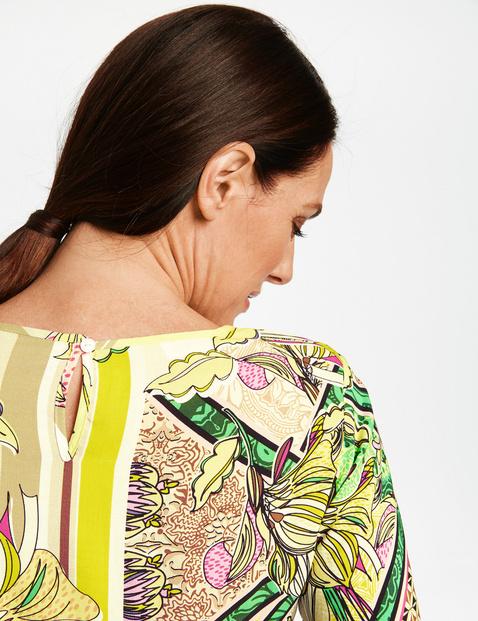 1/2-sleeve blouse top