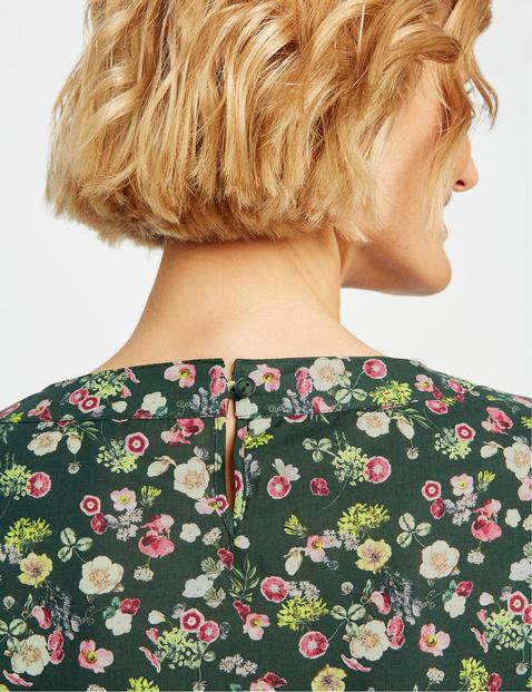 Blusenshirt mit Streublümchen