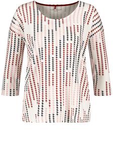 Shirt Brauntöne Leomuster 46 NEU  Animalprint Langarmshirt