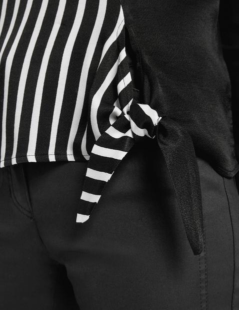 Langarmshirt mit Wickeloptik